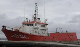 Salvamento marítimo com resgate médico a mais de 200 milhas da costa Oeste