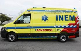 INEM renova ambulância do Posto de Emergência Médica dos Bombeiros da Lourinhã