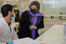 Presidenciais: Ana Gomes defende em Peniche mais financiamento para investigação ligada ao mar