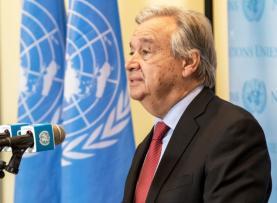 Conselho de Segurança quer recondução de António Guterres como secretário-geral da ONU