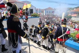 Vimeiro encheu-se de visitantes para assistirem às recriações militares evocativas da primeira invasão francesa