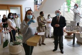 COVID-19: Caixa de Crédito Agrícola da Lourinhã homenageou profissionais do Centro de Saúde