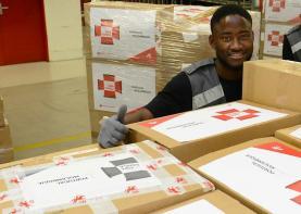 CTT enviam para Moçambique 70 toneladas de donativos dos portugueses