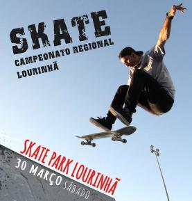 Lourinhã recebe Campeonato Regional de Skate no próximo dia 30 de Março