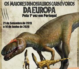'The Big 5+': Museu da Lourinhã acolhe exposição com os maiores dinossauros carnívoros da Europa