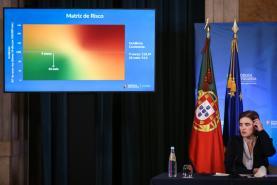 Covid-19: Governo remete eventual alteração da matriz de risco para reunião com peritos