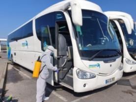COVID-19: Rodoviária do Oeste introduz alterações nas carreiras do serviço urbano