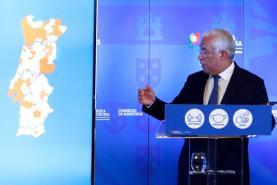 Covid-19: Governo decide confinamento parcial em quatro concelhos do Oeste entre os 121 do país