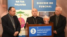 D. Nuno Brás, novo bispo do Funchal, manifestou intenção de servir a tempo inteiro à chegada à Madeira