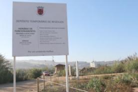 COVID-19: Município da Lourinhã reabre Depósito Temporário de Resíduos na segunda-feira