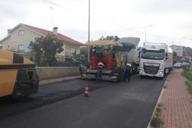Obras de repavimentação da EN8-2 concluídas esta segunda-feira na Lourinhã