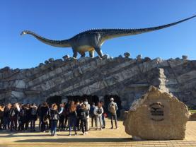 Alunos do Curso de Turismo da ESCO visitaram Dino Parque da Lourinhã