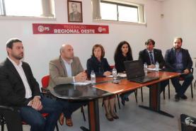 FRO/PS defende junto do Governo um plano de acção para investimentos no Centro Hospitalar do Oeste
