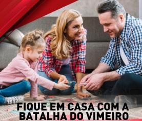 COVID-19: 'Fique em casa com a Batalha do Vimeiro' é um jogo 'on-line' para a família