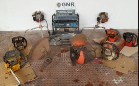 Seis pessoas detidas pela GNR por furto e receptação de material na região Oeste
