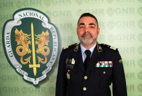 Tenente-coronel Quatorze Pereira é o novo comandante do Comando Territorial de Lisboa da GNR