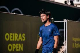 Ténis: Gastão Elias travado nos quartos-de-final do 'ATP Challenger 125 Oeiras Open'