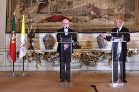 Portugal e Santa Sé aceleram preparativos para visita do Papa Francisco em 2023