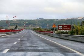 Reposta circulação normal no troço do IP6 entre Óbidos e Peniche com o fim das obras