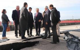 Empreitada de reparação do troço do IP6 junto ao viaduto do Olho Marinho aguarda visto do Tribunal de Contas