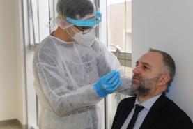 Covid-19: Escolas do Oeste que integram o Politécnico de Leiria participam na testagem massiva ao vírus SARS-CoV-2