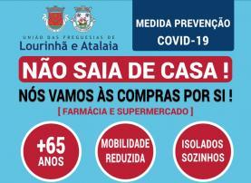 COVID-19: apoio a idosos isolados ou sozinhos nas freguesias de Lourinhã e Atalaia