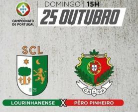 Futebol: SC Lourinhanense perdeu em casa por 1-0 frente ao Pêro Pinheiro