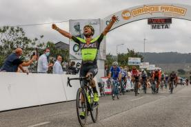 Troféu Joaquim Agostinho: Luís Mendonça sprinta de longe para a camisola amarela