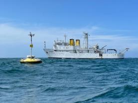 Navio hidrográfico da Marinha termina missão de investigação científica ao largo da costa
