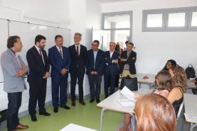 Ministro da Educação assinalou abertura do ano lectivo com visita à Escola Básica de Miragaia