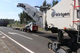 Arrancaram as obras de reabilitação da EN8-2 entre Torres Vedras e Lourinhã