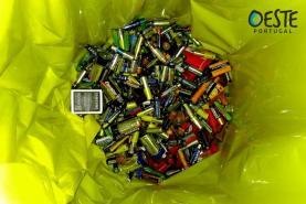 OesteCIM apoia instituições de cariz social com recolha solidária de pilhas usadas