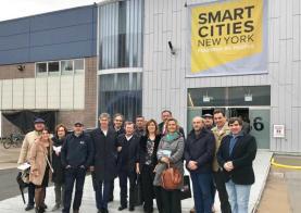 Embaixada da OesteCIM nos Estados Unidos para participar no Congresso 'Smart Cities New York'
