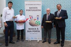 Batata portuguesa promovida nos supermercados nacionais em campanha da associação PORBATATA