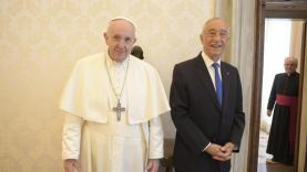 Papa Francisco revelou a Marcelo Rebelo de Sousa que visitará Fátima durante Jornadas Mundiais da Juventude em 2023
