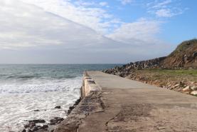 Município de Peniche investe 1,1 milhões de euros no cordão dunar da Baía Norte e na estabilização da Arriba do Porto de Areia Sul