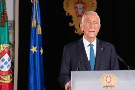 Covid-19: Presidente da República defende que responsabilidade é sobretudo dos portugueses e pede disciplina