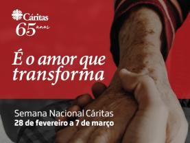 Cáritas promove peditório digital até 7 de Março para reforçar apoios sociais