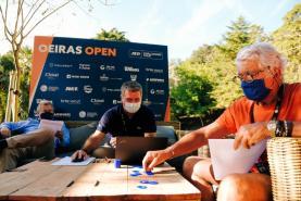 Sorteio do 'ATP Challenger 125 Oeiras Open' com sortes diferentes para os três tenistas do Oeste