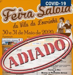 COVID-19: suspensa 5ª edição da Feira Saloia da vila da Lourinhã