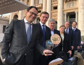 Membros da AIC foram recebidos esta manhã pelo Papa Francisco no Vaticano