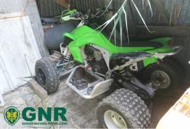 GNR: recuperação de moto-quatro furtada no concelho de Torres Vedras