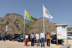 Praias da Lourinhã viram hasteadas as bandeiras azuis, qualidade de ouro e da acessibilidade deste Verão