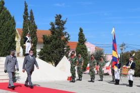 Cerimónias evocativas da Batalha do Vimeiro foram restritas devido à pandemia de Covid-19