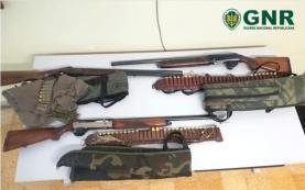 Três homens detidos por caça ilegal no concelho de Torres Vedras