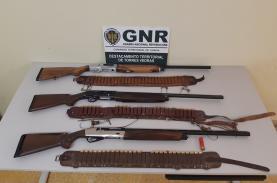 Torres Vedras: três detidos por caça em terreno não cinegético