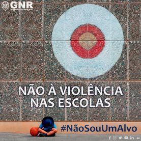 GNR lança campanha nacional contra a violência nas escolas #NaoSouUmAlvo