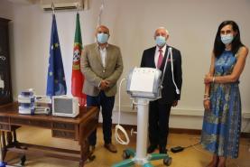 CHO recebeu material médico doado pela Avibom e Lions que ultrapassa os 80 mil euros