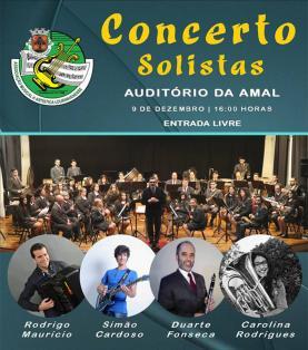 Concerto de Solistas na Associação Musical e Artística Lourinhanense
