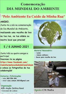 Dia Mundial do Ambiente assinalado este fim-de-semana pela Acção Católica Rural